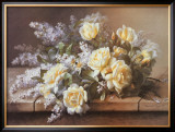 Still Life with Yellow Roses Posters by Raoul 