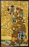 Fulfillment, Stoclet Frieze, c.1909 Art by Gustav Klimt