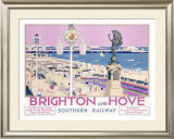 Brighton and Hoveii Framed Giclee Print by Kenneth Shoesmith