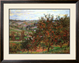 Apple Trees in Bloom at Vetheuil, c.1887 Prints by Claude Monet