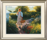Grandma's Garden Prints by Robert Duncan