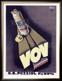VOV Framed Giclee Print by Marcello Nizzoli