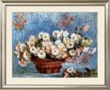 Chrysanthemums, c.1878 Prints by Claude Monet