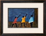 The Migration Series, No. 58, 1941 Poster by Jacob Lawrence