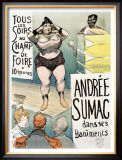 Andree Sumac Framed Giclee Print by Henri Gabriel Ibels