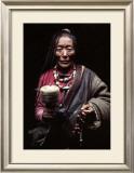 Kham, Tibet Art by Gilles Santantonio