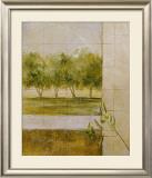 Olive Groves II Print by Cheryl Martin