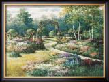 Garden Trellis Art by T. C. Chiu