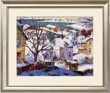 Winter Harbor Prints by Henry Gasser
