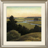 Evening Tide Print by Sandy Wadlington