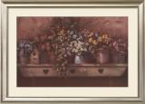 Flowers on Shelf Prints by Paul Landry