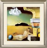 ヘレナ・ルビンシュタインのための壁面装飾 高画質プリント : サルバドール・ダリ