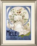 E&A Mele, Mode Confezioni Framed Giclee Print