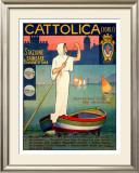 Cattolica Boat Framed Giclee Print