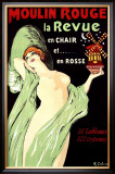 Moulin Rouge Framed Giclee Print by Gabriel Deluc