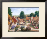 Normandy Village France Print by Michael Duvoisin
