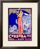 Cordoba Framed Giclee Print by Joaquin y Rafael Diaz-Jara