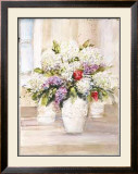 Bouquet of Hydrangeas Prints by Jerry Sic