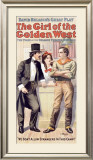 Girl of the Golden West Framed Giclee Print
