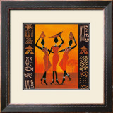 Three Gatherers Art by Izabella Dahlke