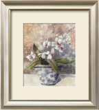 Romantic Still Life with Orchid II Art by Tan Chun