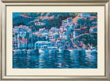 Harbor Reflections Print by John Cosby