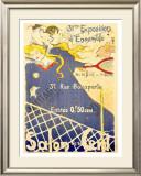 Salon des Cent Framed Giclee Print by  Lobel