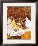 Femmes Dans un Jardin Posters by Claude Monet