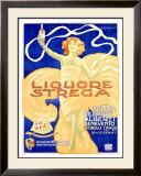 Liquore Strega Framed Giclee Print by Alberto Chappuis