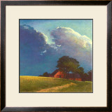 Summer Storm Print by Sandy Wadlington