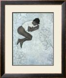 Sleeping Girl Print by Wesley White