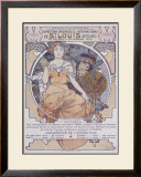 St. Louis, International Exposition Framed Giclee Print by Alphonse Mucha