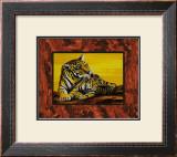 Tigress Caress Prints by David Blair