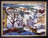 Winter Harbor Poster by Henry Gasser