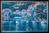 Harbor Reflections Prints by John Cosby