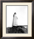 Young Cowichan Overlook Framed Giclee Print by Edward S. Curtis