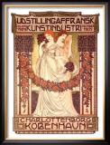 Udstillingafransk Kunstindustri Framed Giclee Print