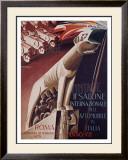 2nd Salone Automobile Italia Framed Giclee Print by Giuseppe Riccobaldi