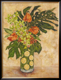 Anthurium and Orchid Prints by Judy Shelby