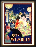 British Empire Exhibition, LNER Poster, 1925 Framed Giclee Print by C R W Nevinson