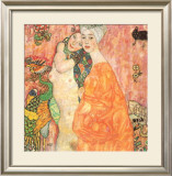Freunddinnen Prints by Gustav Klimt