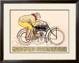 Motocycles Cottereau Framed Giclee Print