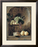Grapes, Peaches And Quinches In A Niche, 1883 Art by Frans Snyders