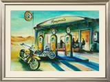 Reyna's Desert Cafe Art by Alfred Gockel