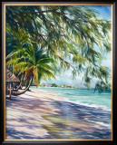 Shady Beach Posters by Lois Brezinski