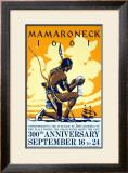 Mamaroneck Village Anniversary Framed Giclee Print