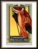 Expo Bruxelles Framed Giclee Print
