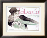 Tabarin Framed Giclee Print by Ernst Deutsch