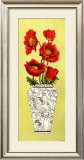 Chinois Poppy Art by Judy Shelby