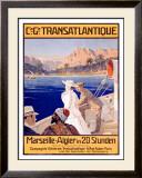 Transatlantique, Marseille Framed Giclee Print